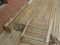 庭院防腐木地板