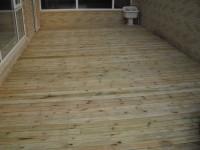 室内防腐木地板