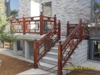 防腐木护栏10