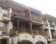 防腐木阳台
