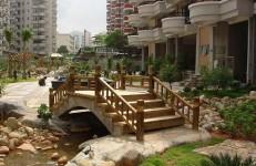 防腐木木桥2