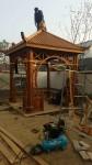 济南庭院防腐木凉亭